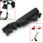 Durable Golf Club Push Pull Bike Cart Umbrella Holder Fishing Kits Clamp Stand