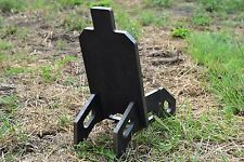 "7""x13.5"" IDPA Body & Stand Rifle Target All Parts 1/2"" AR500 Steel"