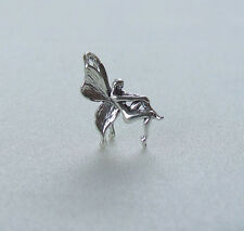 FAIRY PIXIE ELF 3D CHARMS CHARM 925 STERLING SILVER
