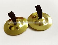 4PCS of Brass Finger Cymbals Belly Dance Zills Bell