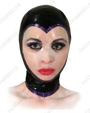 780 Latex Rubber Gummi Mask Hood customized catsuit unique costume 0.4mm cool