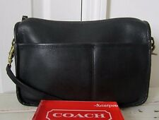 COACH VINTAGE RARE NYC COMPANION CROSSBODY PURSE BAG 80's 9300.