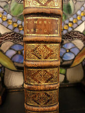 1685 Dutch Cornelis Schrevel Latin & GREEK Lexicon Language Manual Cambridge ed