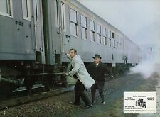YVES MONTAND  UN SOIR... UN TRAIN 1968 VINTAGE PHOTO LOBBY CARD N°4