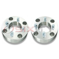 "2pc 2"" Aluminum 4/137 to 4/110 ATV Wheel Adapter w/ 10 mm Bolt 2.0 Inch"