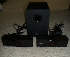 Hercules XPS 2.1 50 3-pc Speaker Subowoofer System