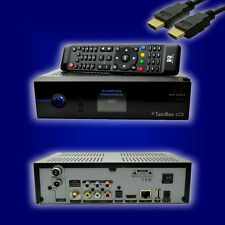 Red Eagle twinbox LCD Full HD Linux e2 Receiver (1 x dvb-s2 + 1 x dvb-c/t2) + HDMI