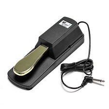 New Damper Sustain Pedal For Yamaha Piano Casio Keyboard Sustain Ped