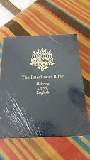 The Interlinear Bible Hebrew-Greek-English 1 Volume Edition with Strong's...