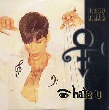 CD single PRINCE I hate you 5-Track CARD SLEEVE RARE NEW SEALED