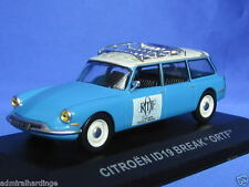 CITROEN ID19 BREAK ESTATE ORTF TELEVISION NEW 1:43 A18 ALTAYA NOREV DS