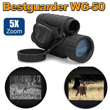6X50 Infrared Dark Night Vision IR Monocular Binoculars Telescopes Scope Hunting