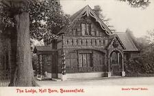 The Lodge Hall Barn Beaconsfield Nr High Wycombe unused old pc H G Stone Royal