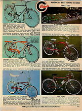 """1967 ADVERT Columbia Bicycle 26"""" Special Banana Seat Fire Arrow Twosome Tandem"""