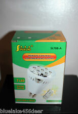Rechargeable Emergency LED Light Bulb 7W E27 Remote Control