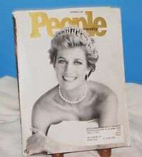 PEOPLE WEEKLY SEPTEMBER 15, 1997 REMEMBERING DIANA PRINCESS DI LIFE PHOTOS