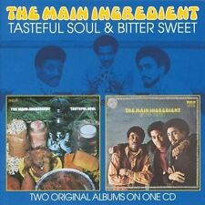 Tasteful Soul/Bitter Sweet by The Main Ingredient (CD, Aug-2010, SuperBird)