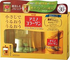 2016 New!! MEIJI Amino Collagen Premium Starter Kit 90g 30 Days Japan Import