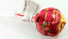 Chupa-Chups Lolipop Candy Strawberry Flavor Assorted Flavour Lollies 11g