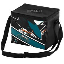 NHL San Jose Sharks 2016 Lnsulated Lunch Bag Cooler (6 pack size)