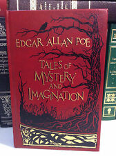 Tales of Mystery and Imagination by Edgar Allan Poe an illustrated leather-bound