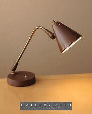 KURT VERSEN DESK LAMP! Deskey OC Mid Century Modern Lightolier Eames Vtg 1950s