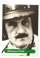F1 Card - Graham Hill 1962 World Champion - Formula 1 Racing