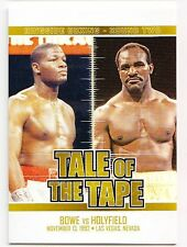 Riddick Bowe Evander Holyfield 2011 Ringside Boxing 2 Tale of the Tape Gold /9