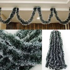 Xmas Tree Hanging Ornament Decoration Garland Ribbon String for Christmas Party
