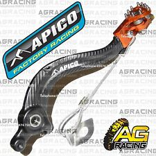 Apico Black Orange Rear Brake Pedal Lever For KTM EXC 380 2007 Motocross Enduro