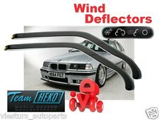 BMW E36 1991-2000 wind deflectors 2.pcs FOR FRONT DOORS SALOON/ESTATE HEKO 11123