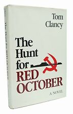 The Hunt for Red October First Edition Tom Clancy 1st Printing Rare Book 1984