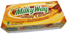 Case Of 24 Milky Way Simply Caramel American Chocolate from Candy Junction