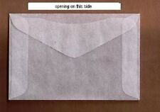"100 #3 Glassine stamp Envelopes 2 ½"" x 4¼"" westvaco cenveo jbm storage bag"