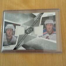 08-09 2008-09 SPX ERIC MARC STAAL WINNING COMBOS DUAL JERSEY WC-EM HURRICANES