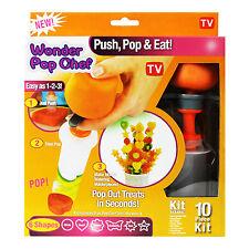 Canapé Cortador Maker frutas verduras Shaper Wonder Pop CHEF FIESTA decorador