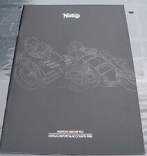 Papeles 29-Norton Group PLC informe anual & Cuentas 1988 Libro en Rústica