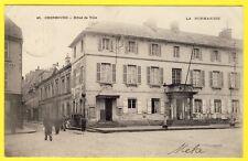 cpa 50 - CHERBOURG (Manche) HÔTEL de VILLE Précurseur DOS 1900