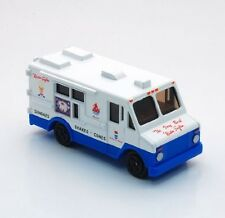 "Mister Softee Ice Cream Truck Diecast Metal Musical Toy 1/87 Scale 3"" Long Model"