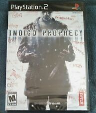 Indigo Prophecy (PlayStation 2 2005) & Strategy Guide 100% Virgin Factory Sealed