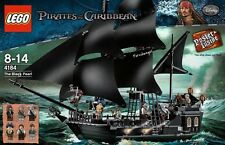 LEGO 4184 Pirates of the Caribbean Black Pearl 100% AUTHENTIC USA SELLER