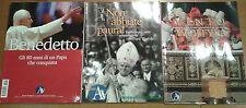 BENEDETTO XVI gli 80 anni di un Papa che conquista 2007 AVVENIRE Ratzinger