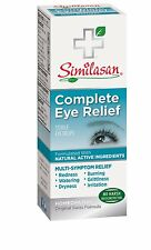 Similasan Complete Eye Relief Drops 10ml  100% Natural - FREE SHIPPING!