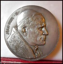 1980 MÉDAILLE BRONZE POPE JEAN PAUL II PAPALS MEDAL