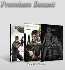 XBox 360 Biohazard Resident Evil Revival Selection +Collector's GALLERY (Boxset)