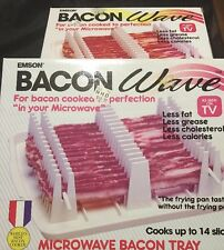 Emson Bacon Wave Greaseless Microwave Cooker
