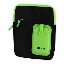 MERONCOURT Kurio Carry Shoulder Bag for 4-10 Inch Device, Green/Black (C13700GI)