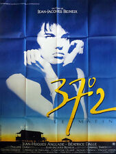 Affiche 120x160cm 37°2 LE MATIN (1986) Beatrice Dalle, Jean Hugues Anglade BE