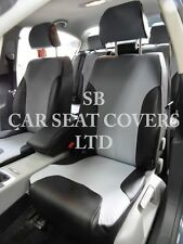 TO FIT A VW PASSAT CAR, SEAT COVERS, 2013, 22D GREY / BLACK FULL SET