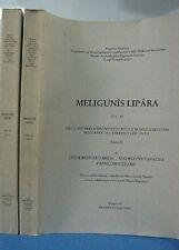 MELIGUNIS LIPARA VOL XI  2 TOMI SICILIA (GA798)
